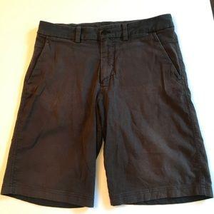 """lululemon commission blue shorts sz 34 11"""" inseam"""